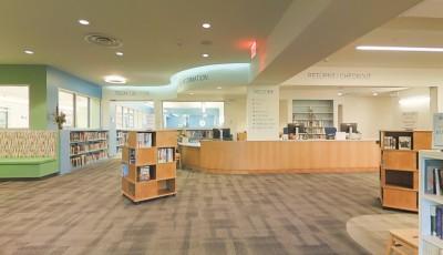 Harrison Public Library 3D Model